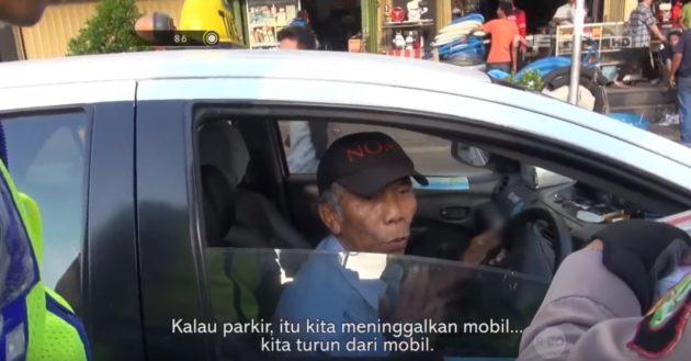 Supir Taksi Kena TIlang