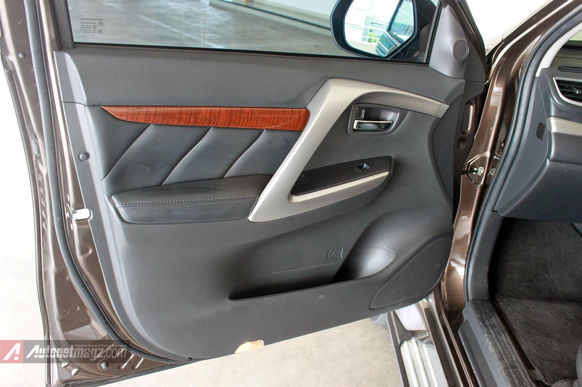 Wooden panel kayu doortrim Mitsubishi All New Pajero Sport baru 2016