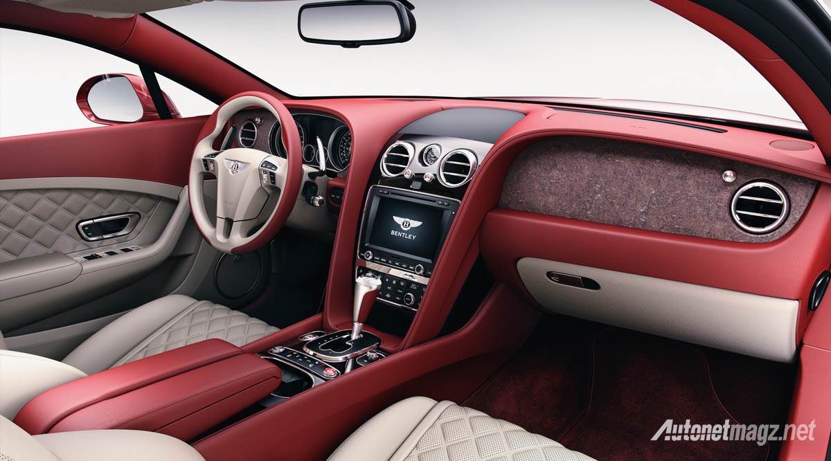 bentley red stone interior