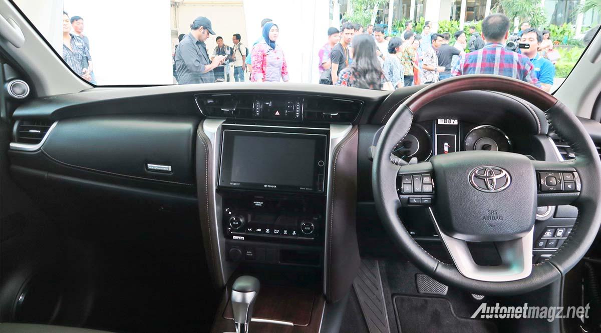 Intip Yuk Fitur Toyota Fortuner 2016 Terbaru Tiap Tipe
