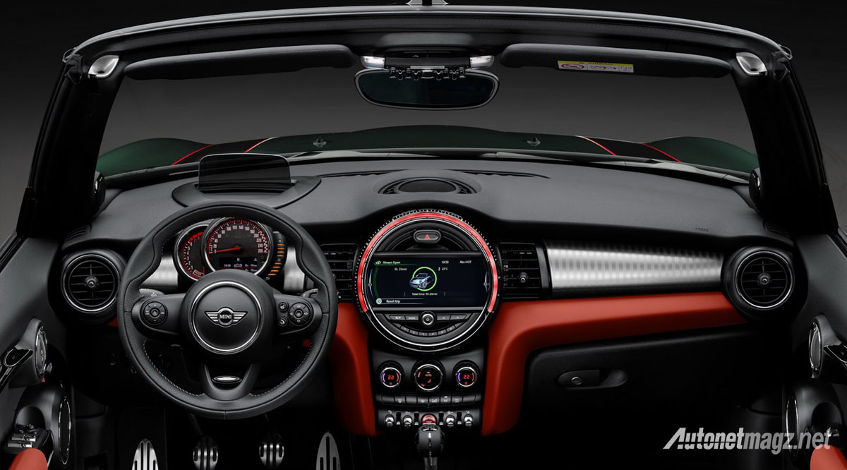 interior mini jcw convertible