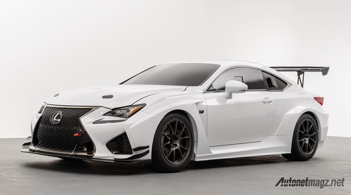 lexus rc-f racecar