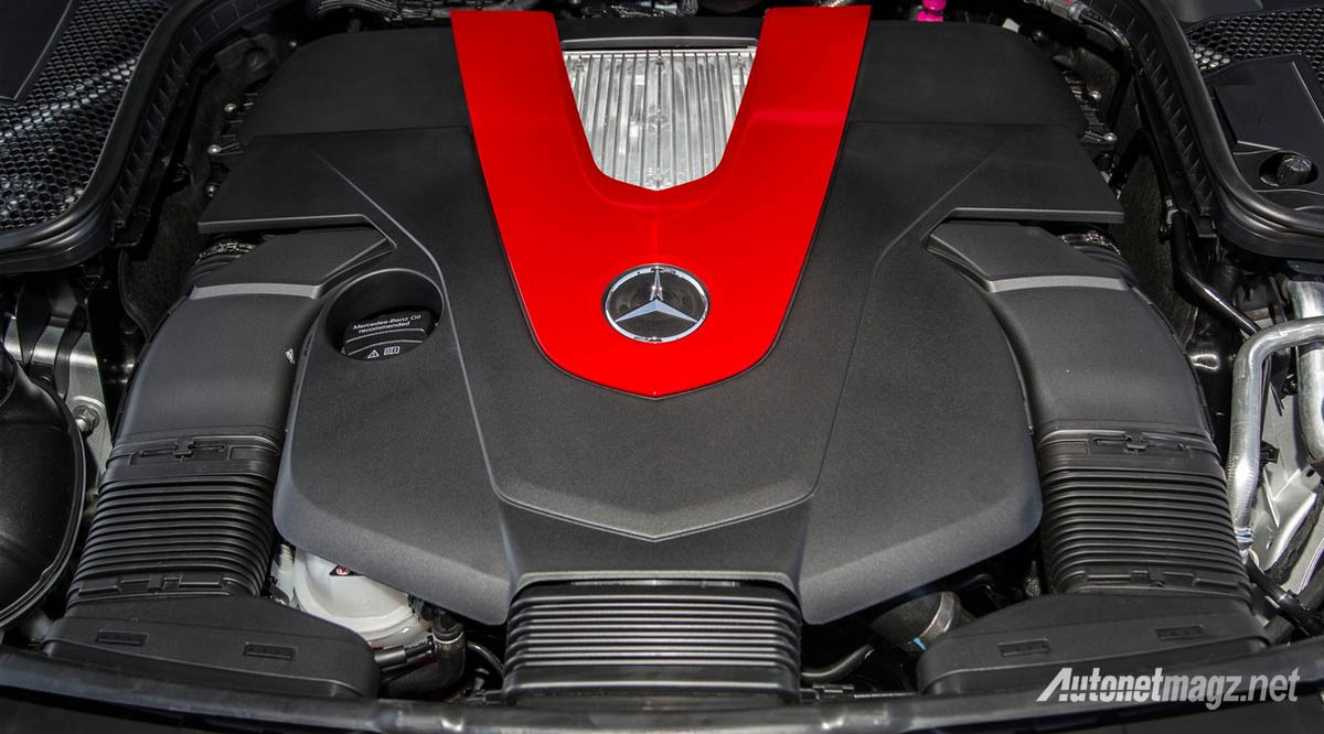 mercedes benz c450 amg engine