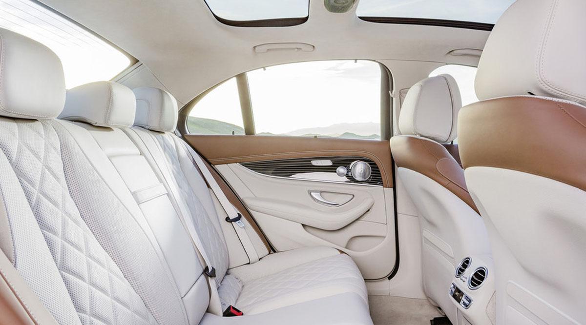 mercedes benz e class 2017 rear seat