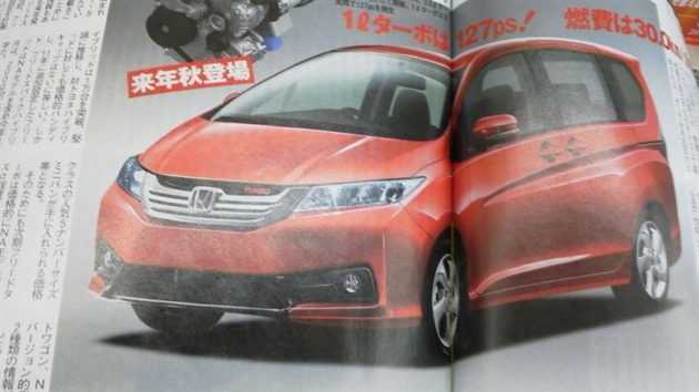 render honda freed