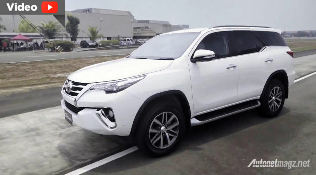 review All New Toyota Fortuner 2016 Indonesia video