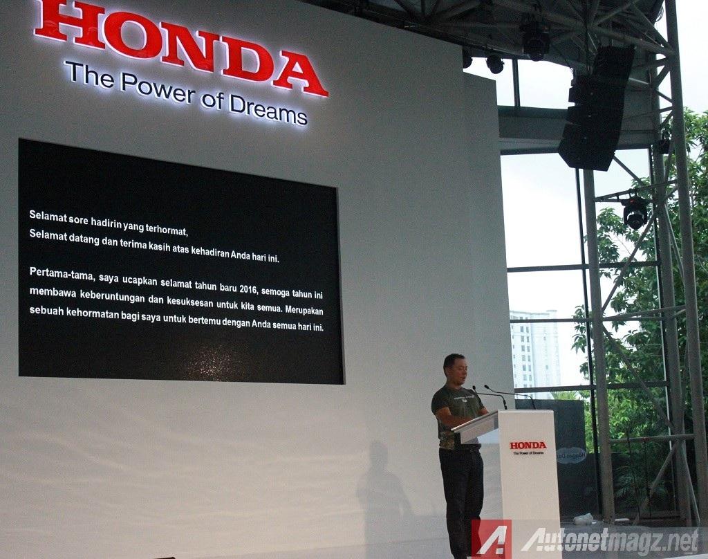 seremonial penyerahan Honda BR-V Indonesia