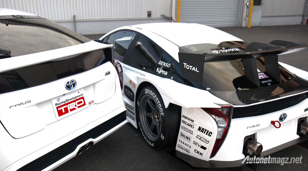 toyota prius gt300 rear