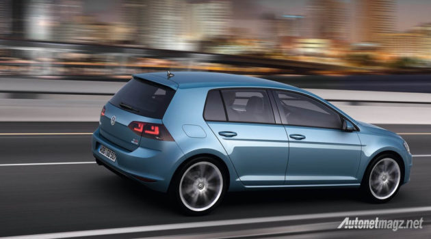 vw golf mk7 rear