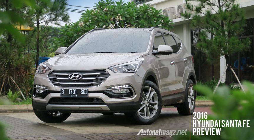 2016 Hyundai Santa Fe >> Preview Hyundai Santa Fe Facelift 2016 Indonesia Autonetmagz