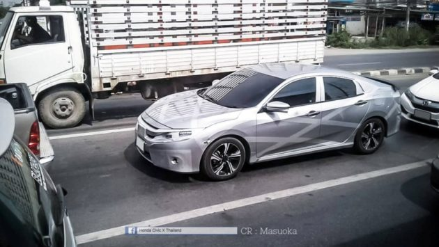 Honda-new-Civic-Thailand-2016-spy-shot-front