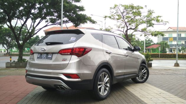 Hyundai Santa Fe Facelift Indonesia