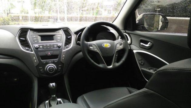 Hyundai Santa Fe Interior Facelift 2016