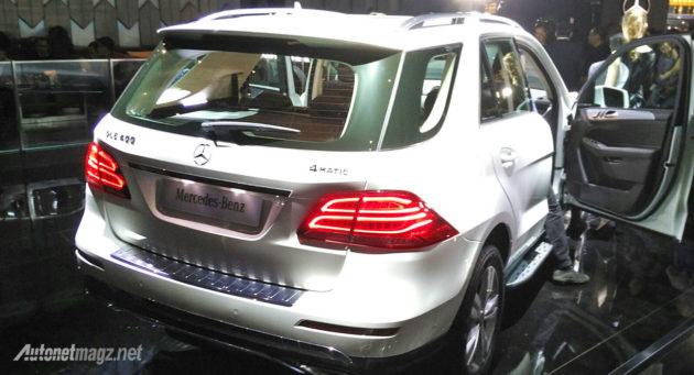 Mercedes-Benz GLE 2016 rear view
