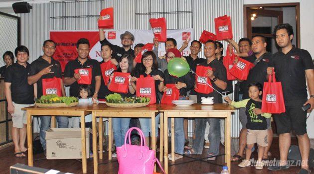 NISMO RayBan deklarasi klub Nissan March Bandung