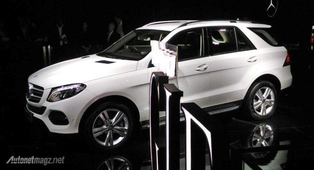 New Mercedes Benz GLE SUV