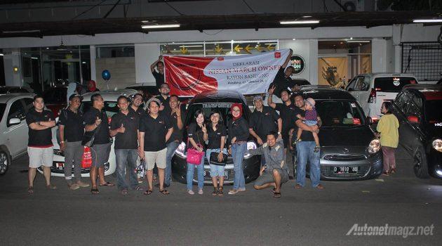 Nissan March Owner Rayon cabang Bandung