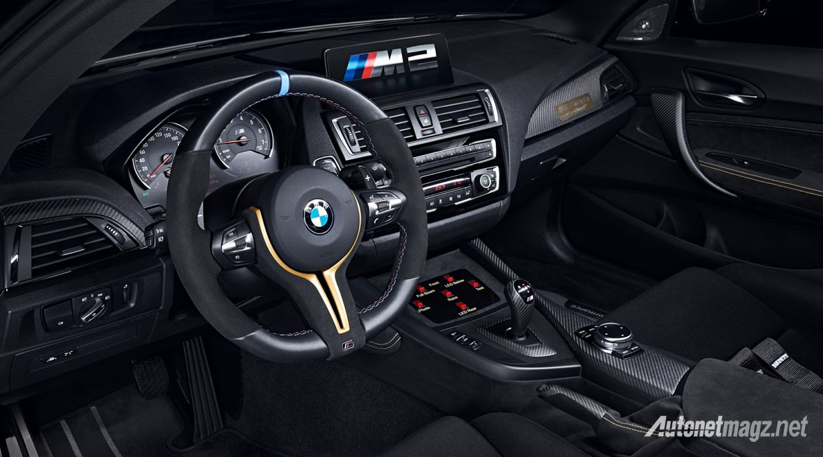 bmw m2 safety car motogp interior