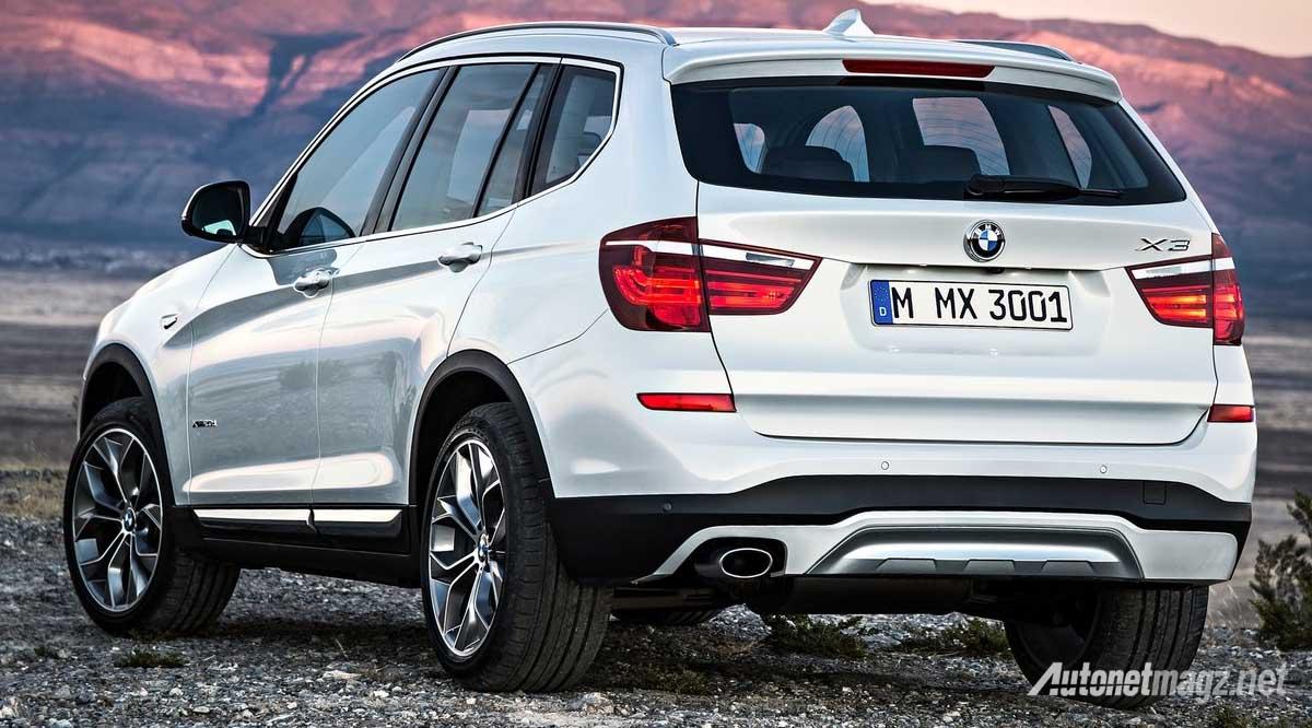 bmw x3 2015 rear
