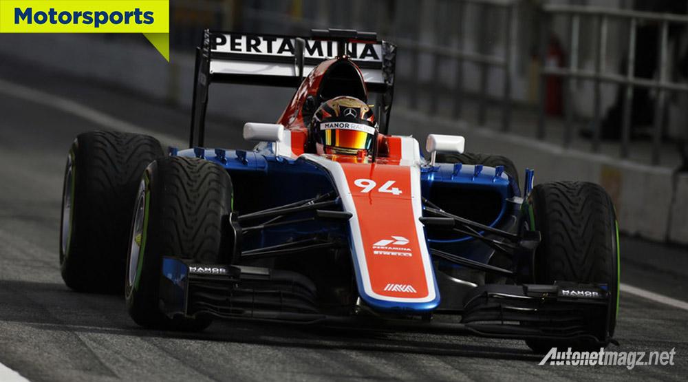 Berita, f1 manor racing rio haryanto: Inilah Mobil F1 Rio Haryanto di Manor Racing, Kok Mirip…