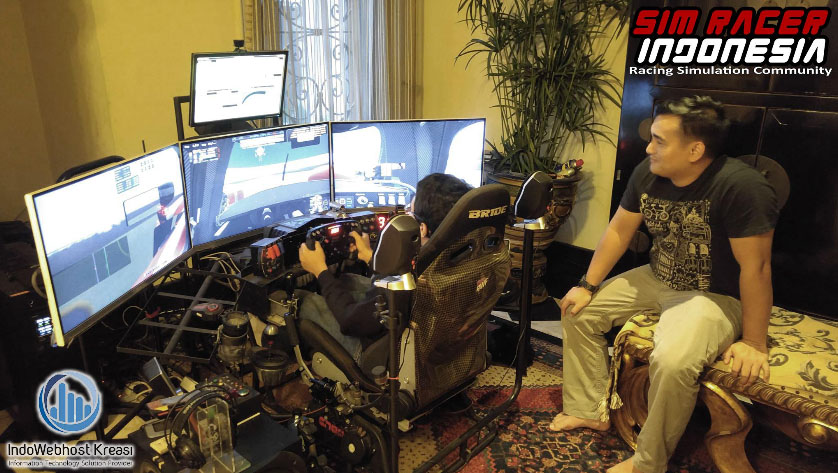 gaming rig sim racer indonesia