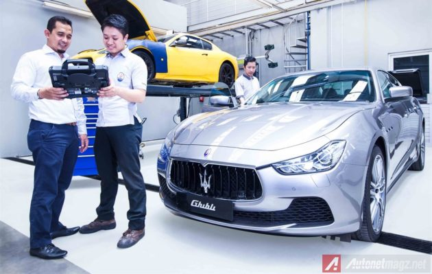 maserati excellence check up