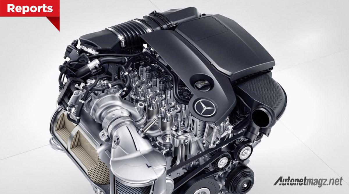 mesin diesel baru mercedes benz