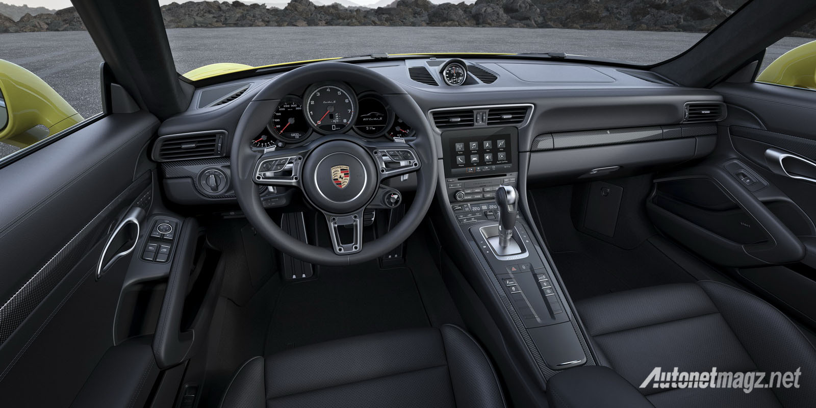 International, porsche-911-turbo-s-2016-interior: Ini Dia Tampilan Baru Porsche 911 Turbo dan 911 Turbo S!