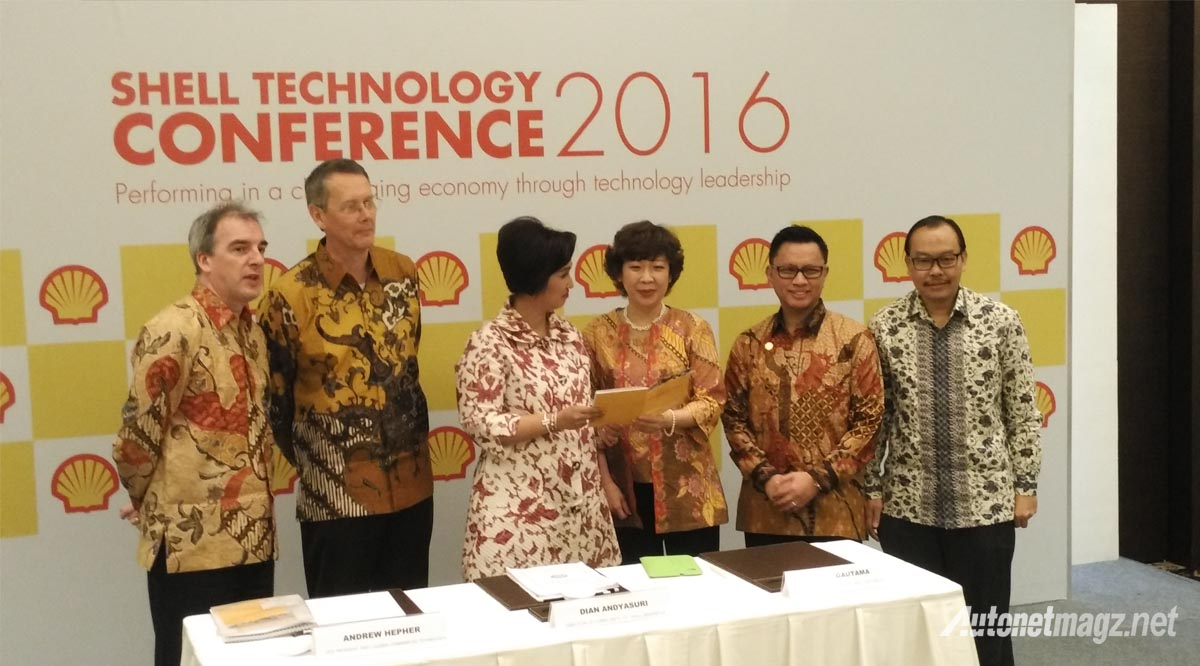 press meet shell technology conference 2016