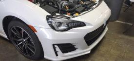 spyshot taillamp subaru brz 2017 facelift