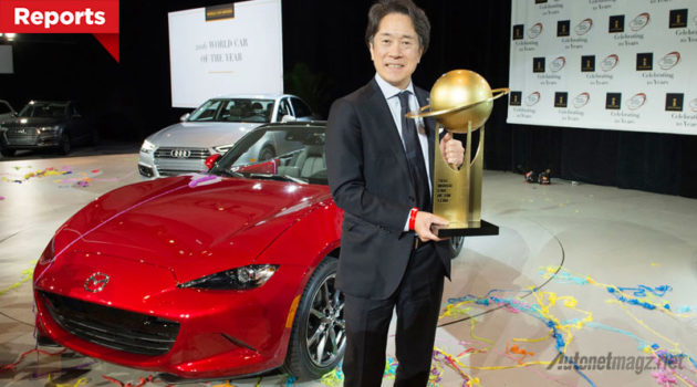 All-New Mazda MX-5 win 2016 World Car Awards at the New York International Auto Show 2016