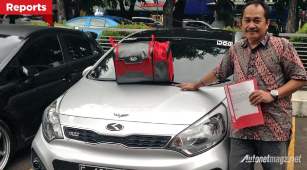 Arnan A Pujo pemenang The Best KIA Global Ambassador 2015 asal Indonesia