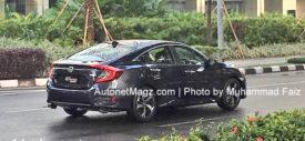 All New Honda Civic 2016 Indonesia spyshot