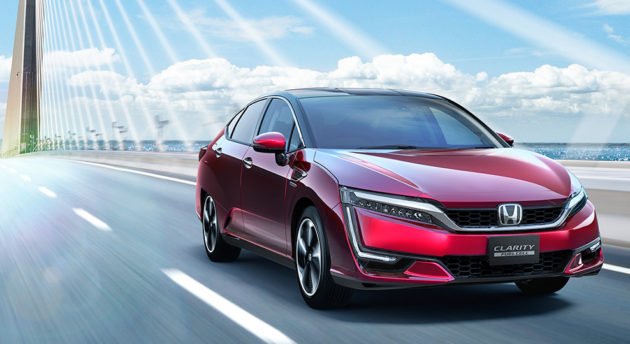 Honda FCV Clarity fuel cell harga