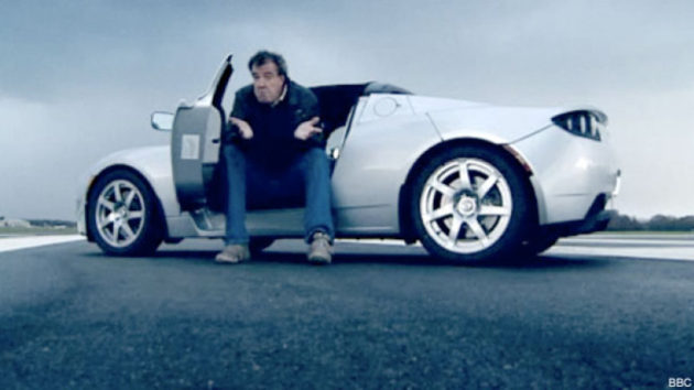Jeremy Clarkson Review Tesla Roadster