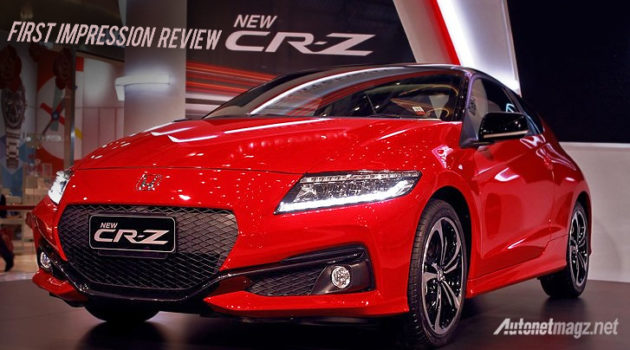 Review Honda CR-Z 2016 Indonesia video