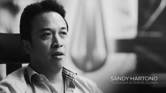 Sandy Hartono desainer interior Hyundai Genesis asal Indonesia interior designer
