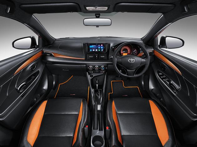 Toyota Yaris TRD Sportivo Facelift Dashboard
