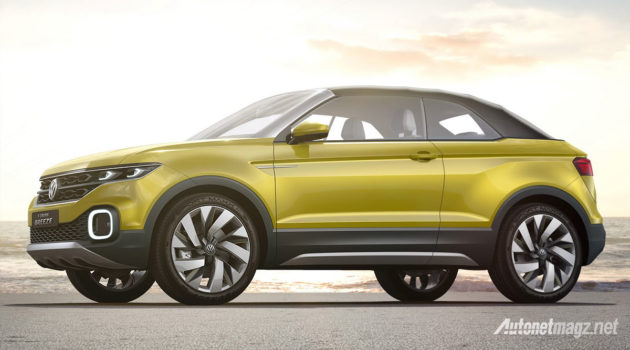VW soft top T-Cross Breeze Concept volkswagen