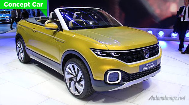 Volkswagen convertible SUV T-Cross Breeze concept 2016