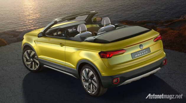 Volkswagen kabriolet T Cross Breeze Concept