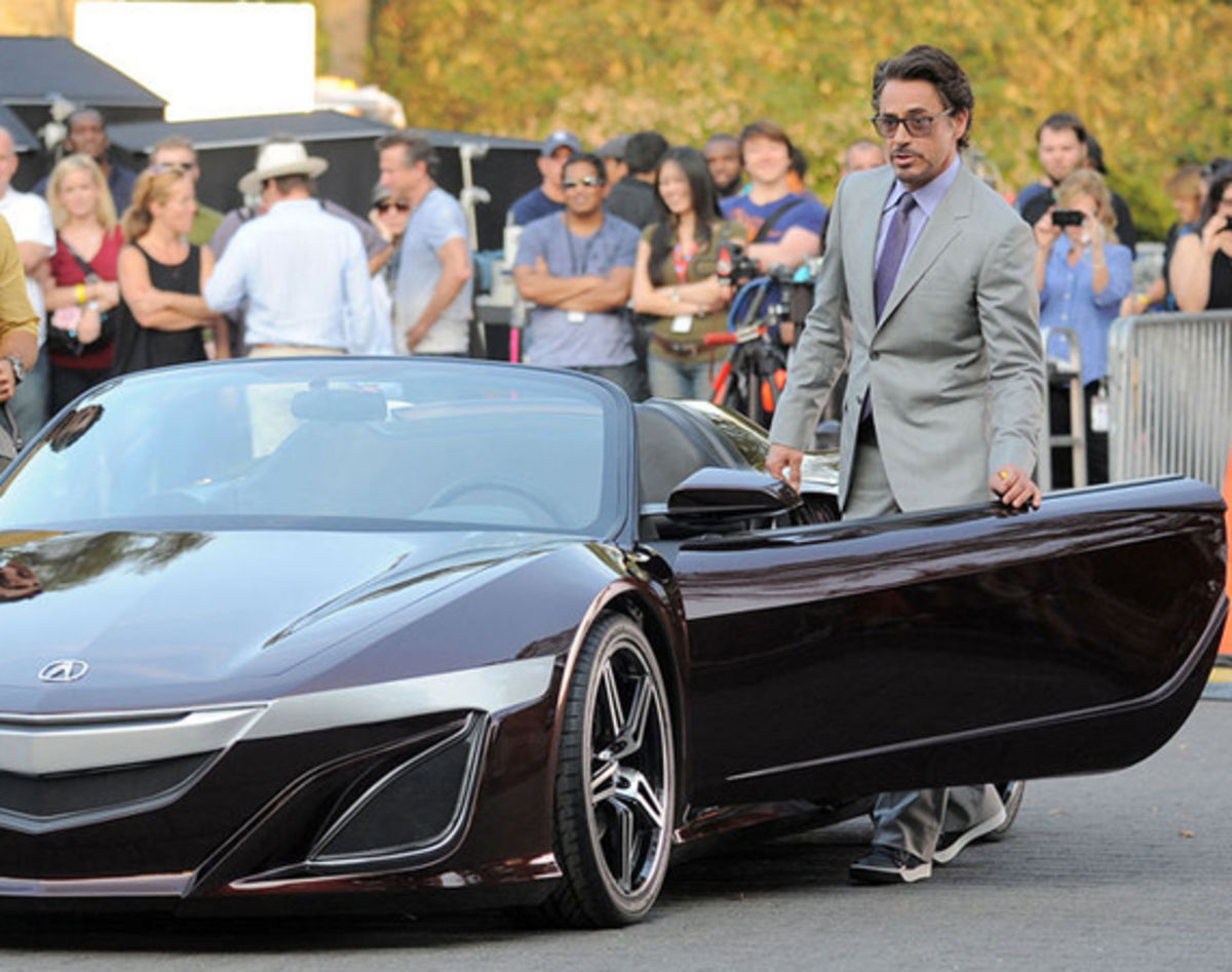 acura nsx convertible the avengers