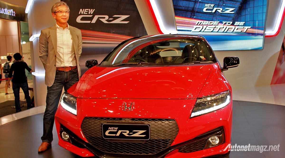 chief engineer honda cr-z
