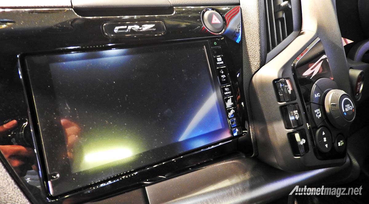 head unit honda cr-z facelift