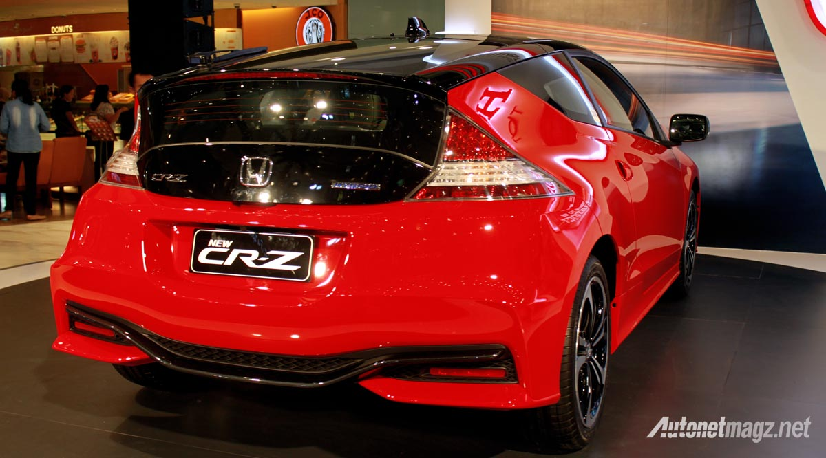 honda cr-z facelift rear