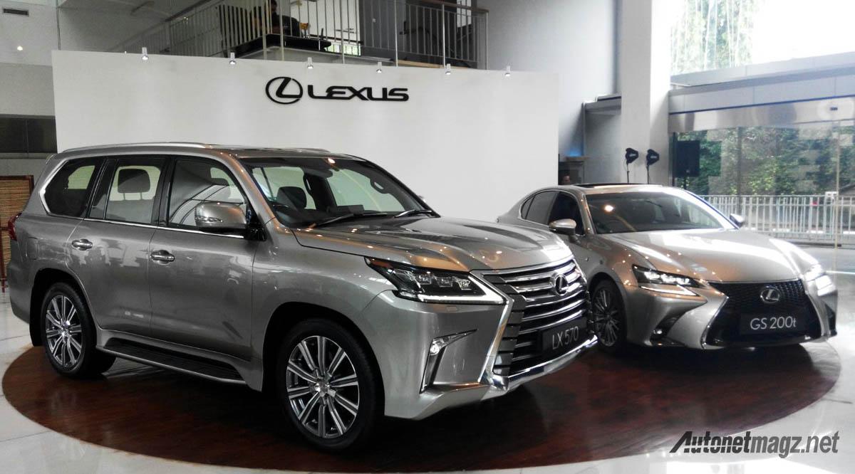 lexus lx570 dan gs200t