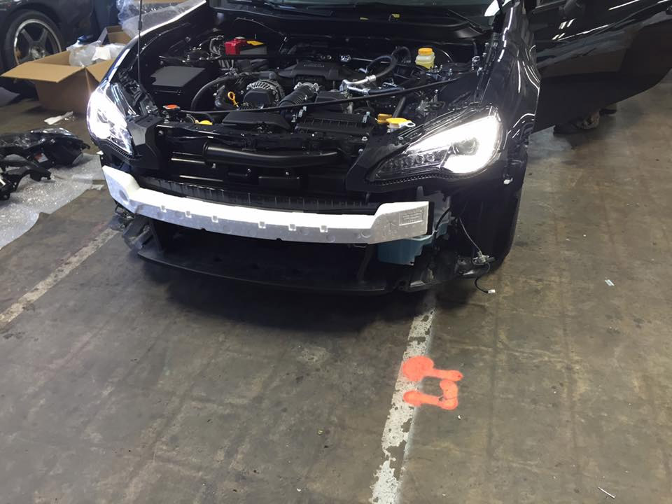spyshot headlamp subaru brz 2017 facelift