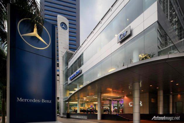 Dealer resmi Mercedes Benz PT Car di Kuningan menjual mobil bekas Mercy second