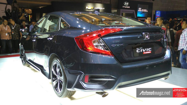Fitur Honda Civic Turbo Indonesia All New