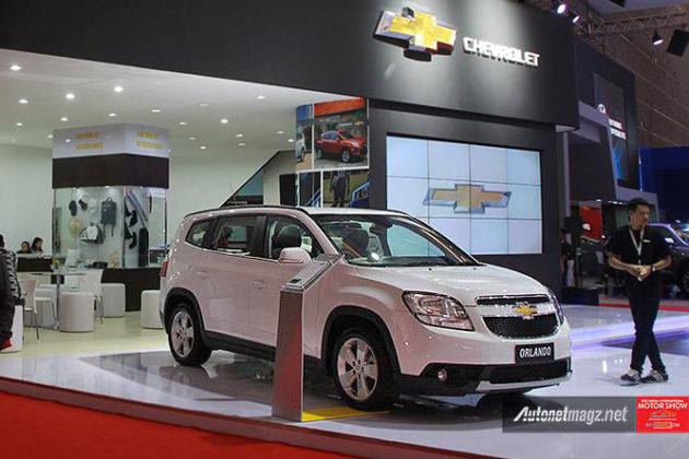 Harga Chevrolet Orlando di IIMS 2016 khusus